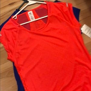 Two champion bright active t shirts